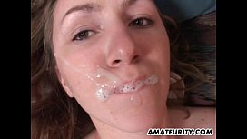 Amateur girlfriend anal with huge cum in mouth miss molly mfc
