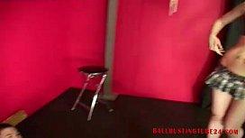 Ballbustingworld - Virgin Slave Ballbusting...