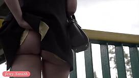 Jeny Smith public flasher...