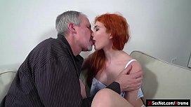 Russian redhead Gisha Forza...