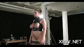 Nude milf gets the marangos tied up in amazing bondage sex scenes