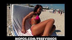 Sun tanning bikini babe...
