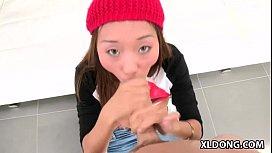 Alina Li loves huge...