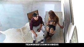 TeamSkeet - Sarah Banks Worshipped...