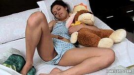Despertando caliente la nena...