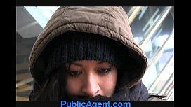 PublicAgent Homeless girl gets...