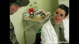 Busty Medical Captain enjoying...
