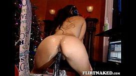 Webcam - Hot latina riding...