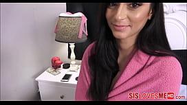 My Hot Latina Stepsister...