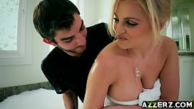 Sexy blonde Katy Jayne fucked hard i ...