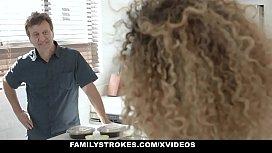 FamilyStrokes - Caramel Ebony Teen...