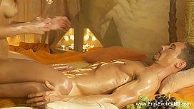Erotic Massage Blonde Loves...
