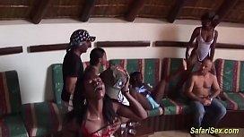 Wild african sex pary...