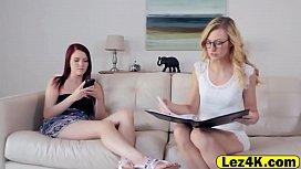 Magnificent teen lesbians Alexa...