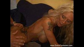 Old Dutch Blonde Whore Fucked Hard reallola