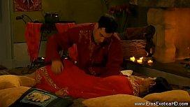 Indian Couple Make Erotic...