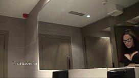 Toilet voyeurs masturbation and...
