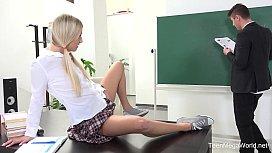 Karolina - Blonde babe gets...