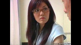 Cute Sexy Japanese Teacher...