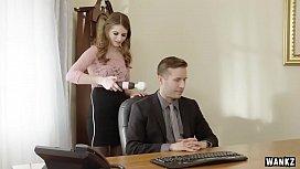 WANKZ- Sexy Office Assistant...