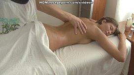 Massage makes girl's...