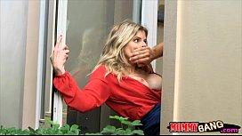 Sydney Cole caught MILF...