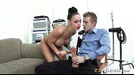 Enormous boobs Angelina Valentine...