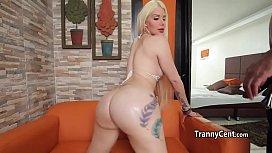 Massive tgirl ass enjoyed...