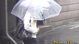 Japanese hos public pee...