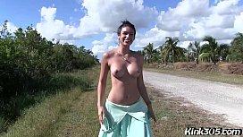 Latina Milf Porn Star Katana Kombat Gets Fucked Outside On The Road