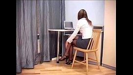 Secretary sex in sheer...