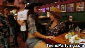 Teen Party Girls Get...