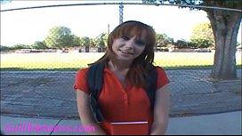 Icecream truck teen schoolgirl...