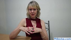 Mature cougar has her...