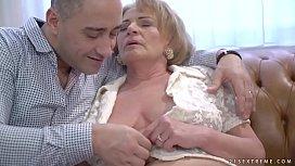 Kinky granny Sally G...