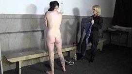 Amanda Arrested and Strip...