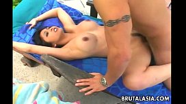 Gorgeous Japanese babe Mika Tan enjoys smutty anal sex helena price anal