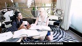 BlackValleyGirls - Ebony Teen With...