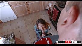 Tiny Teen Stepsister Fucked...