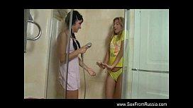 Russian teen Lesbians In...