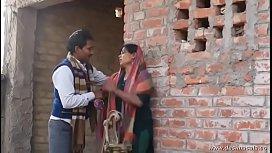 Shy village aunty romance...