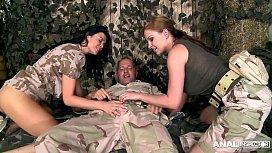 Anal Army Inspectors Jasmine...