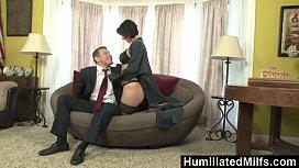 HumiliatedMilfs - Milf Reporter Roxanne...