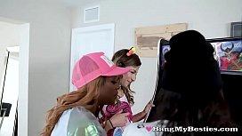 Horny Arcade Girls Share...