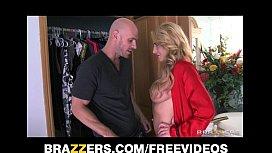 Single blonde MILF catches...