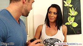 Hot brunette wife Rachel...