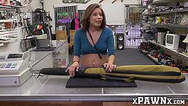 Asian Samantha Parker strikes a deal with big dick broker