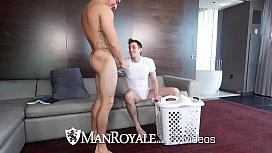 ManRoyale Morning laundry fuck...