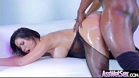 Slut Naughty Oiled Girl (Aleksa Nicole) With Big Round Butts Love Anal Sex movie-02