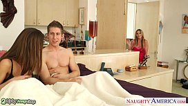 Bisexual babes Brooklyn Chase...